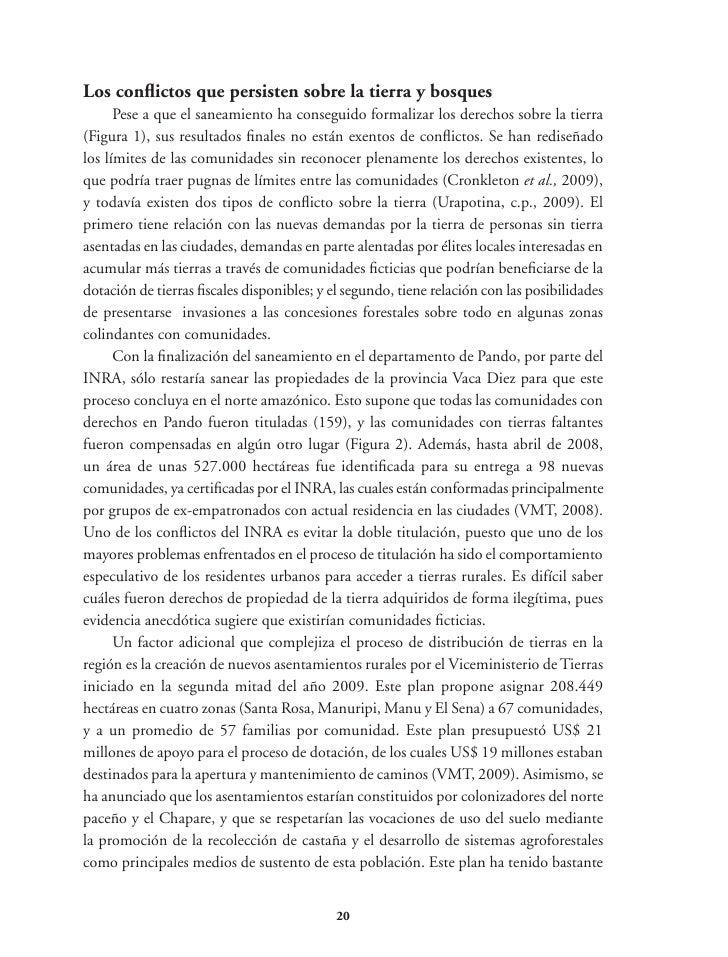 (POAF), y el tráfico de Certificados Forestales de Origen (CFO) (Gareca, c.p., 2009)para lavar madera de fuentes ilegales,...