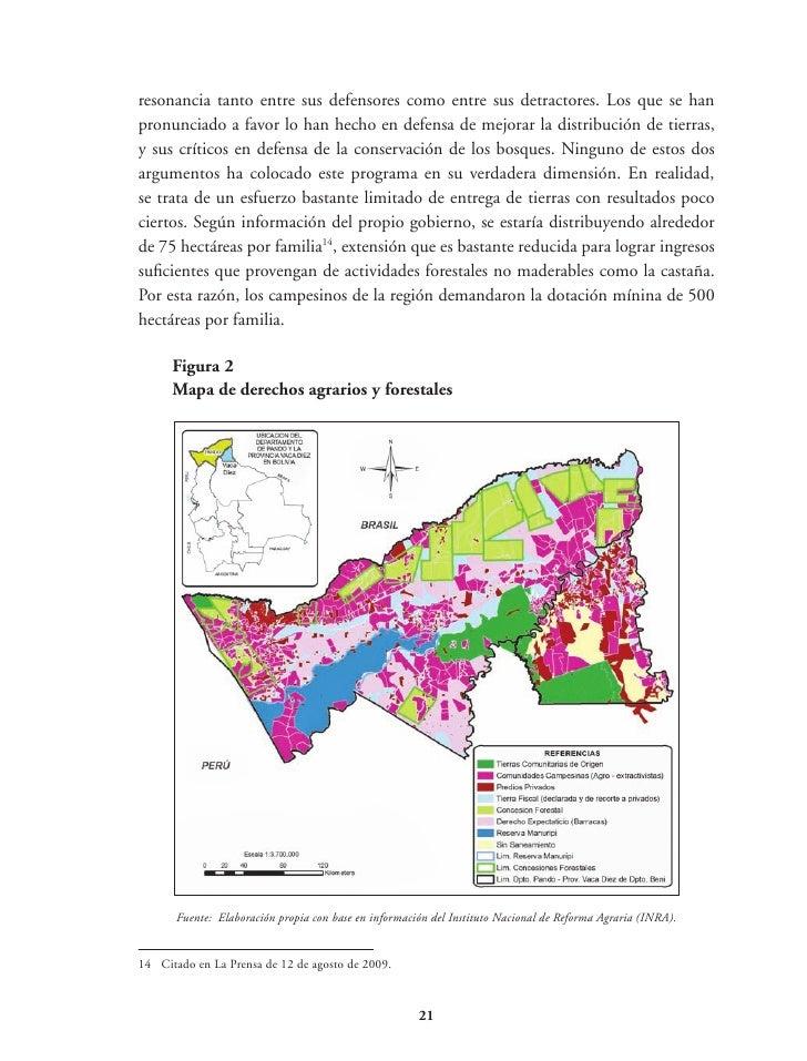 Cuadro 5Evolución de la población bovina en el departamento de Pando (miles)                        1990       1995       ...