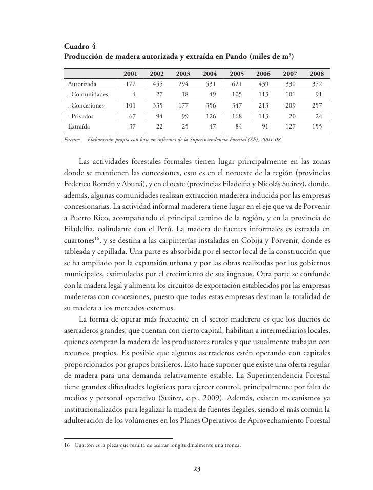 Los datos obtenidos también sugieren que casi una tercera parte de la deforestaciónhabría ocurrido en tierras de comunidad...