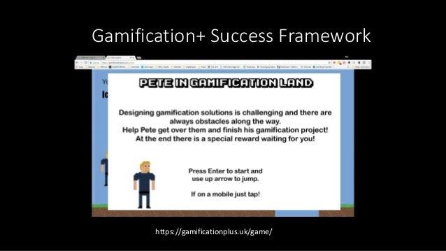 Gamification for BPA Seminar Slides - Pete Jenkins 10th November 2017