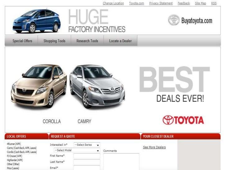 BP & Toyota examples Slide 2