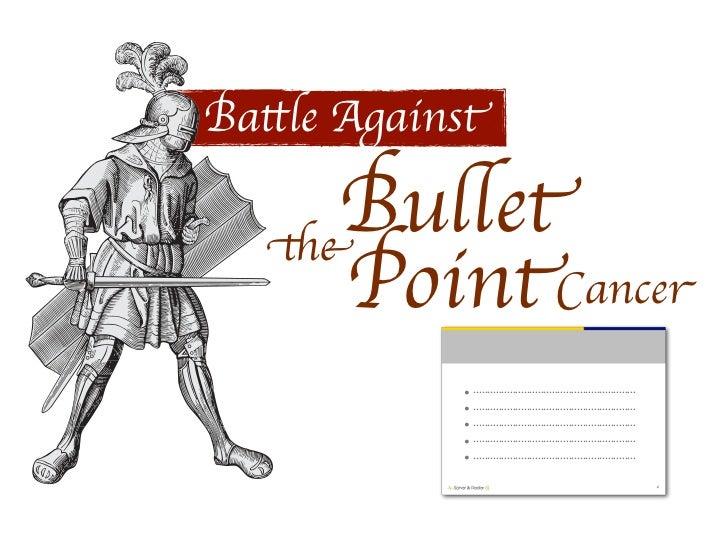 Battle Against the Bullet Slide 3