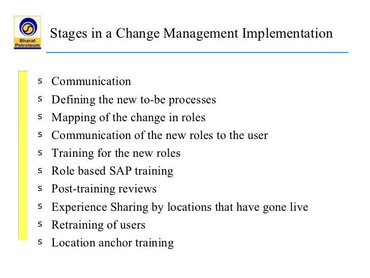 bpcl erp implementation Sap implementation in sap implementation in.