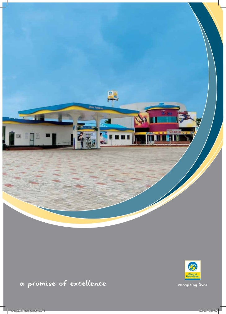 A PROMISE OF EXCELLENCEBPCL-030611-BROCHURE.indd 1      18/07/11 3:24 PM