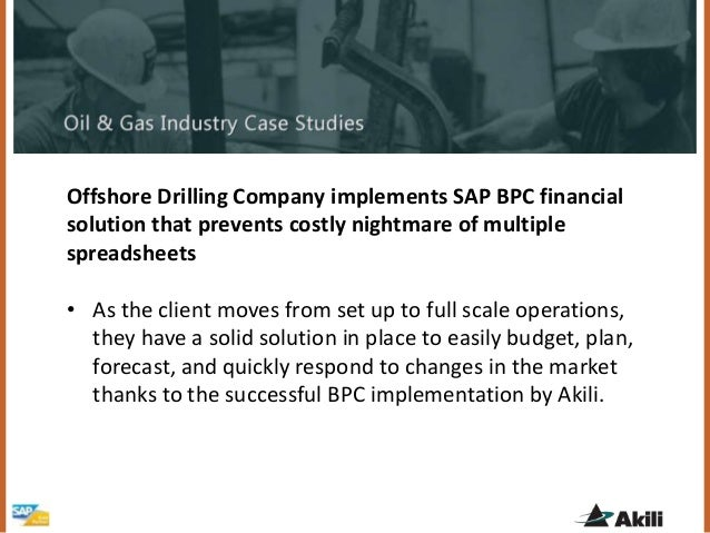 Oil company business plan