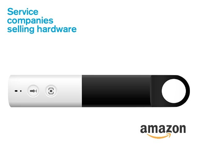 Service companies selling hardware