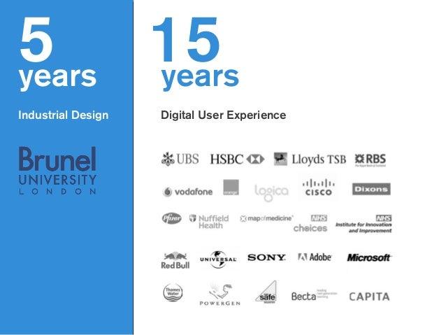 5years ! Industrial Design years ! Digital User Experience 15