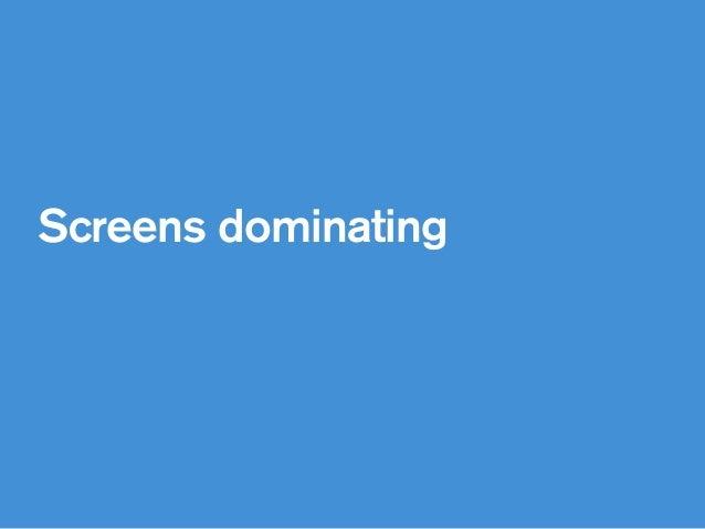 Screens dominating
