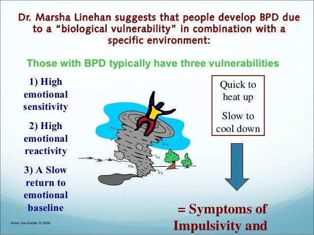 Invalidating environment bpd