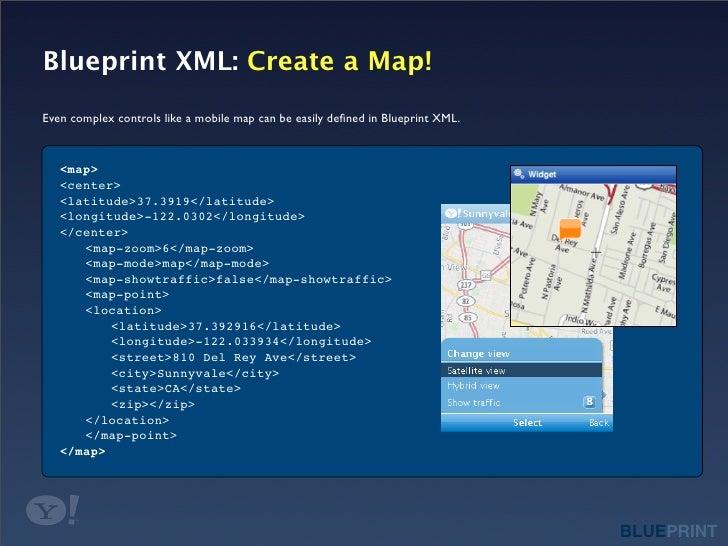 Blueprint xml create a map malvernweather Images