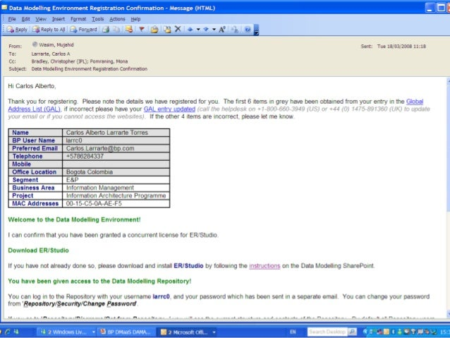 b) Automated publishing of models to SharePoint