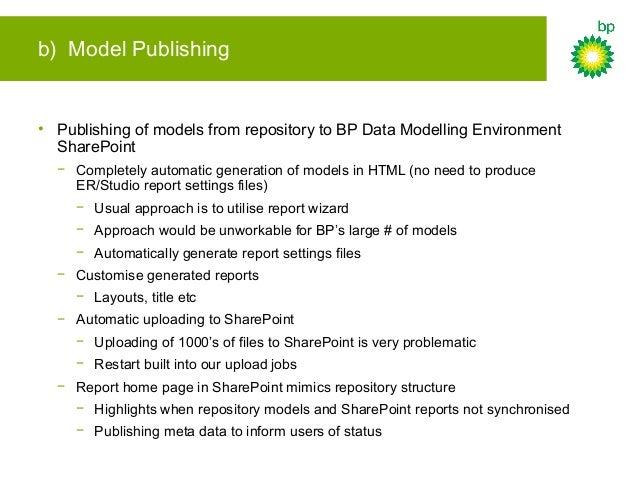 Model Publishing - Example 1. Query for updated models 2. Generate settings file 3. Generate HTML version of model 4. Uplo...