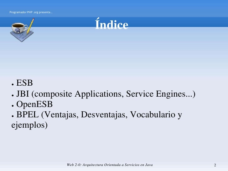 Bpel y Open Esb Slide 2