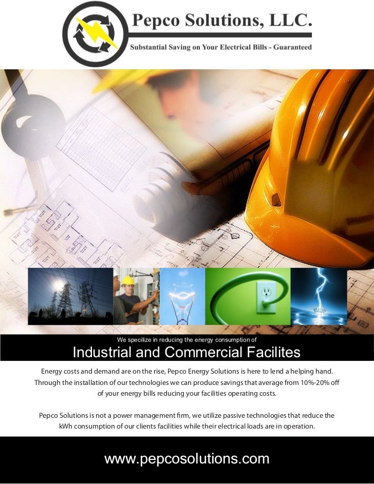 We specilize in reducing the energy consumption of            Industrial and Commercial Facilites  Energy costs and demand...