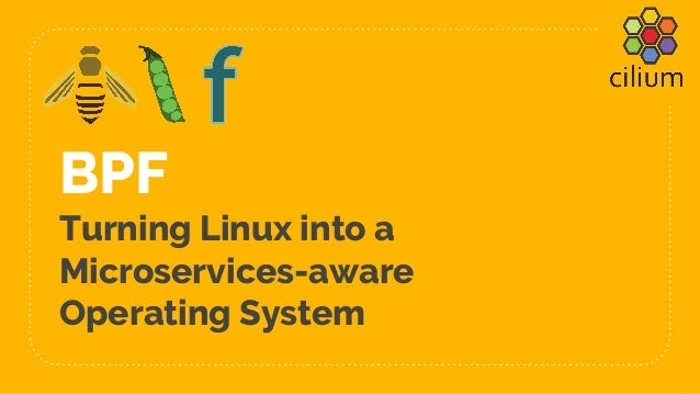 BPF Turning Linux into a Microservices-aware Operating System