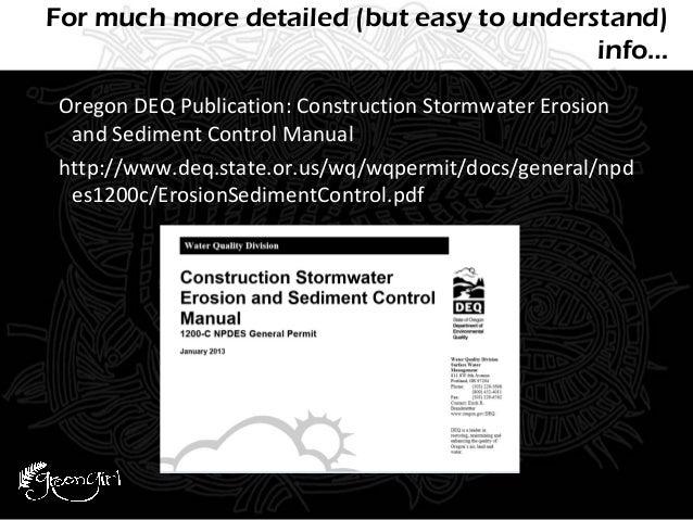 urban mentors erosion prevention sediment control rh slideshare net Polypropylene Mesh Erosion Control Erosion Control Blanket