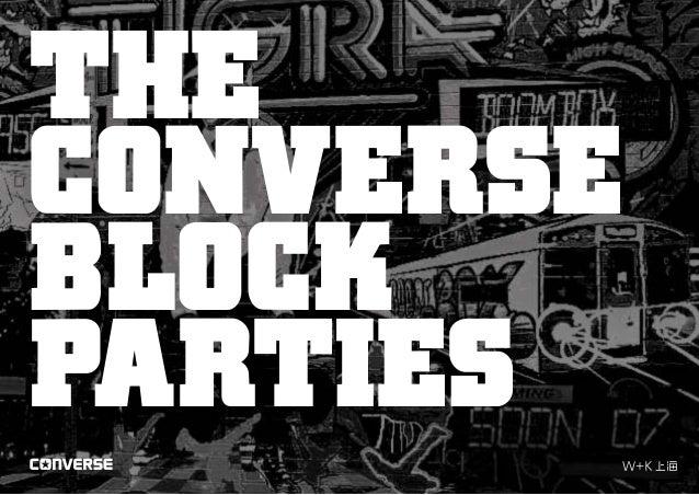 THE CONVERSE BLOCK PARTIES