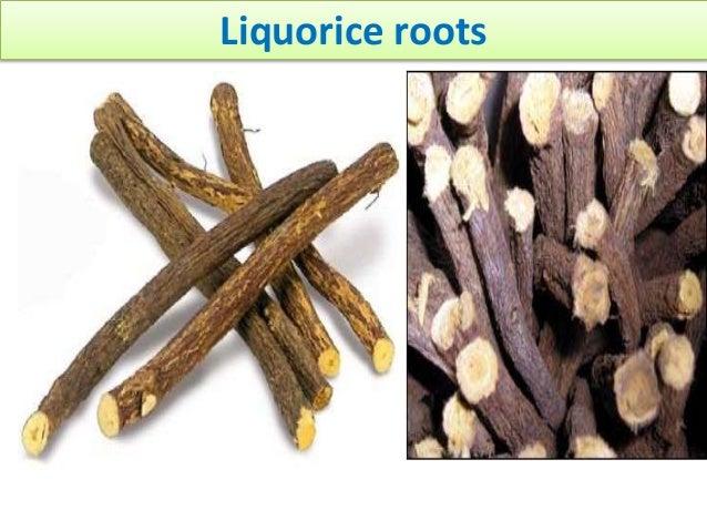 Liquorice roots