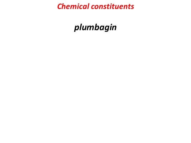 Chemical constituents Triterpenoid saponin glycoside – oleanoil acis ( aglycone) Long chain alcohols, long chain ketones