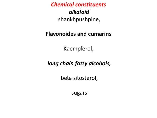 Chemical constituents Alkaloids vasicine, vasicinol, vasicinone, adhatonine