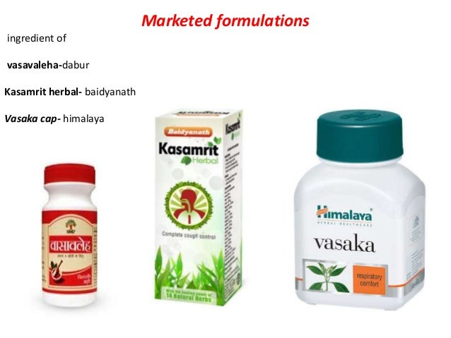 Marketed formulation one of the ingredient of guduchi tablet, abana, bonnisan, rumalaya- himalaya