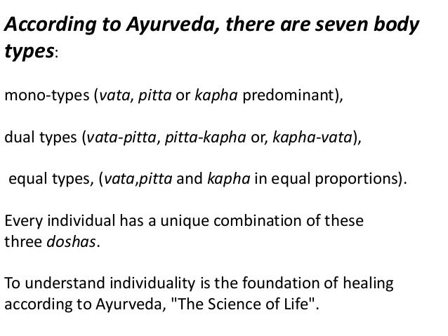 Ayurveda and Relationships According to Ayurveda, our life is a relationship; the relationship between you and your spouse...
