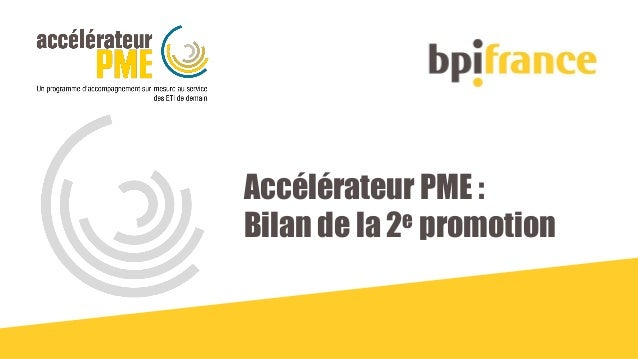 Accélérateur PME : Bilan de la 2e promotion