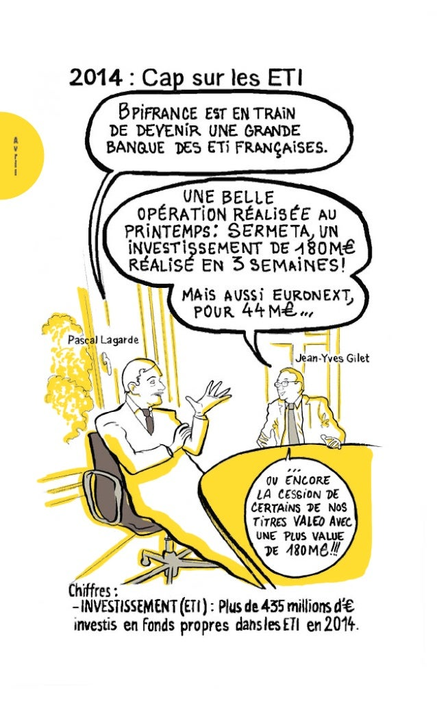 RAPPORT ANNUEL 2014 Bpifrance 110