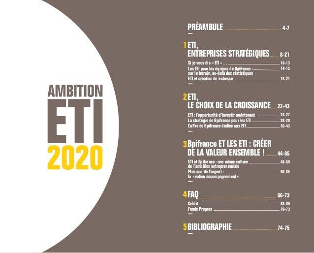 Bpifrance étude ETI 2020 Slide 3