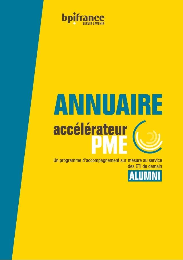 ACCÉLÉRATEUR PME | MARS 2017 | Bpifrance | 1