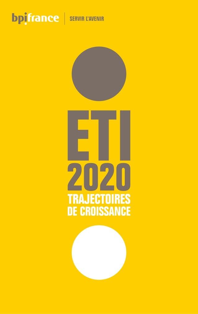 ÉDITOAvec la loi de modernisation de l'économie (LME) du 4 août 2008, les ETI ont enfin eu le privilège de se voir reconna...
