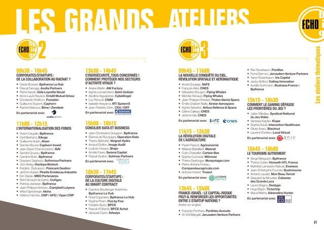 09h45 - 11h00 LA NOUVELLE CONQUÊTE DU CIEL, RÉVOLUTION SPATIALE ETAÉRONAUTIQUE • André Soulage, SAFE • François Alter, C...