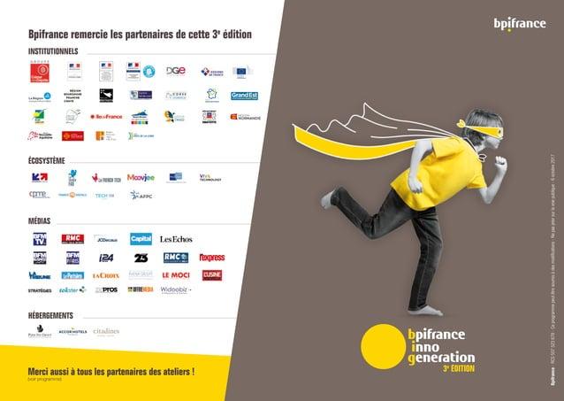 INSTITUTIONNELS ÉCOSYSTÈME MÉDIAS HÉBERGEMENTS Fédération Nationale des Business Angels Entrepreneurs  Startups Merci auss...