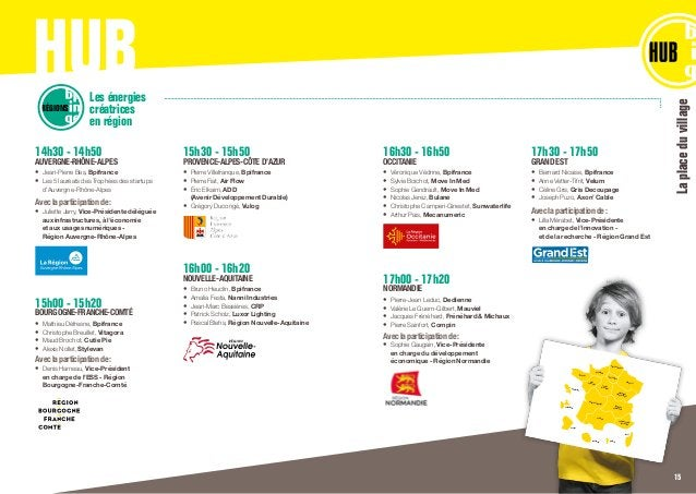 HUB 14h30 - 14h50 AUVERGNE-RHÔNE-ALPES • Jean-Pierre Bes, Bpifrance • Les 5 lauréats des Trophées des startups d'Auvergn...