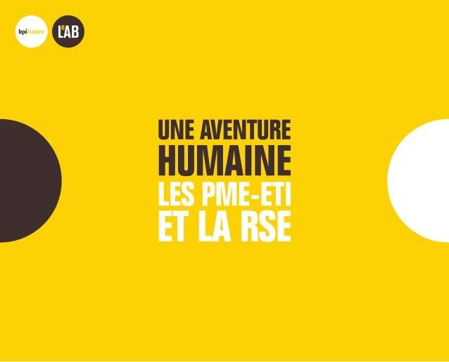 BPIFRANCE LE LABENQUELQUES MOTS Bpifrance Le Lab est un laboratoire d'idées lancé en mars 2014 pour « faire le pont » entr...