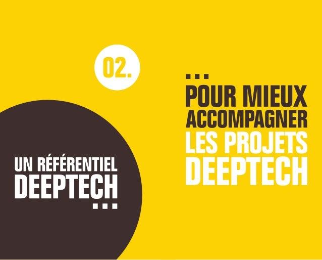 Un référentiel deeptech pour identifier les projets deeptech et mieux les accompagner La création d'un référentiel « Deept...