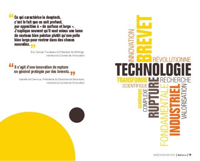 L'ÉMERGENCE D'UNE VAGUE DEEPTECH 1.1 La deeptech est un mouvement de fond Entre 2013 et 2017, les investissements en deept...