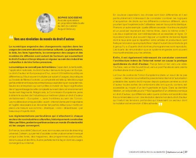 CRÉATIVITÉ DÉROUTÉE OU AUGMENTÉE Bpifrance Le Lab 56 BENOÎT GROUCHKO Directeur Général et Cofondateur de Databerries MARC ...