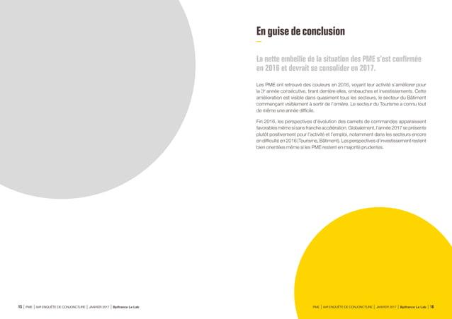 Source : Bpifrance Le Lab • ÉVOLUTION DU CA ET DES EFFECTIFS PAR RÉGION SOLDE D'OPINION EN % CA +3 Eff. 0 CA +6 Eff. +8 C...