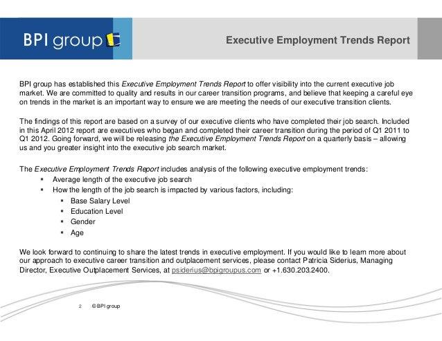 employment trends q1 2011 to q1 2012 2 - Job Market 2011 Current Future Job Market Trends