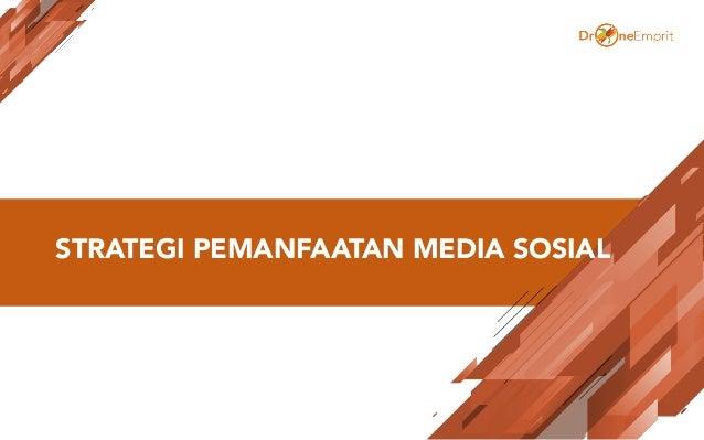 STRATEGI PEMANFAATAN MEDIA SOSIAL