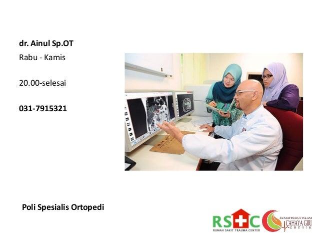 Jadwal Dokter Umum, Gigi dan Spesialis RSI Cahaya Giri ...