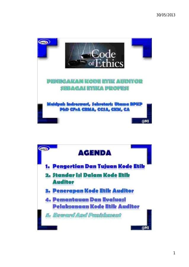 Kode Etik Auditor