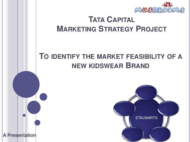 TATA CAPITAL                     MARKETING STRATEGY PROJECT                 TO IDENTIFY THE MARKET FEASIBILITY OF A       ...