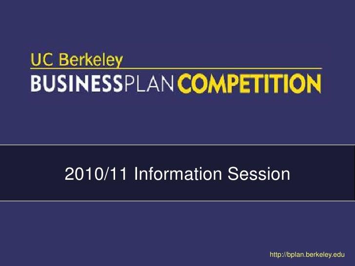 2010/11 Information Session<br />