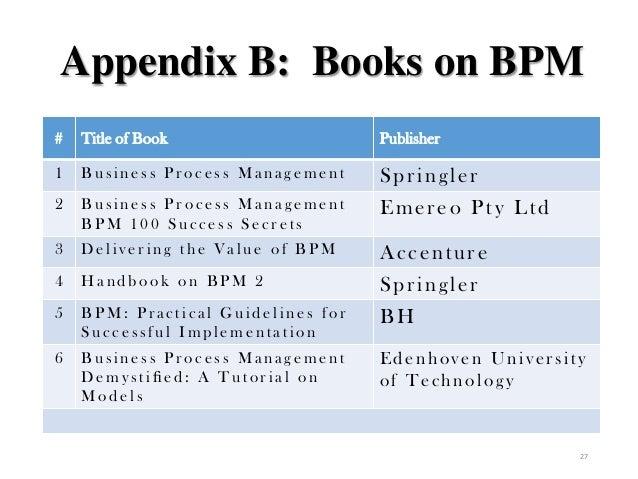 Bpm100 Business Process Management Pdf