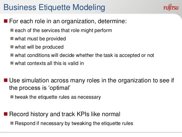 Summary  Knowledge workers are important, and increasing  Current process models are very limited with respect to knowle...