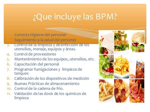Buenas pr cticas de manipulaci n de alimentos for Manual de buenas practicas de higiene y manipulacion de alimentos