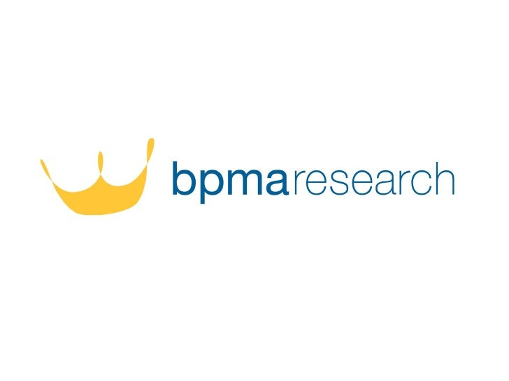 BPMARESEARCH  1    The survey was commissioned by the BPMA and individual in depth       interviews were carried out by an...
