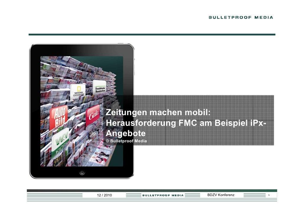 Zeitungen mobile - BDZV Conference